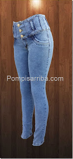 En donde veden pantalon para dama corte colombiano barato