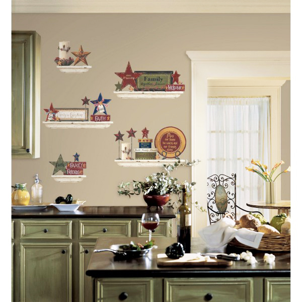 Desain Stiker Wallpaper Dinding Dapur Cantik