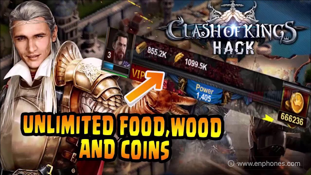 clash of kings mod apk unlimited gold free download