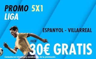 suertia promocion liga Espanyol vs Villarreal 20-10-2019
