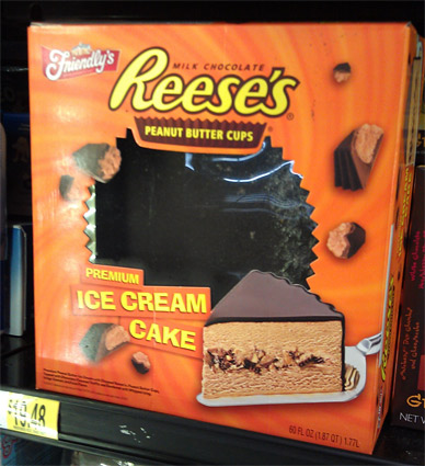 reese s ice cream cake pin reeses cup fondant 28 servings 100 4 layers chocolate 7050