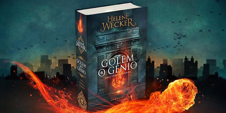 A DarkSide Books liberou hoje um booktrailer para Golem e o Gênio
