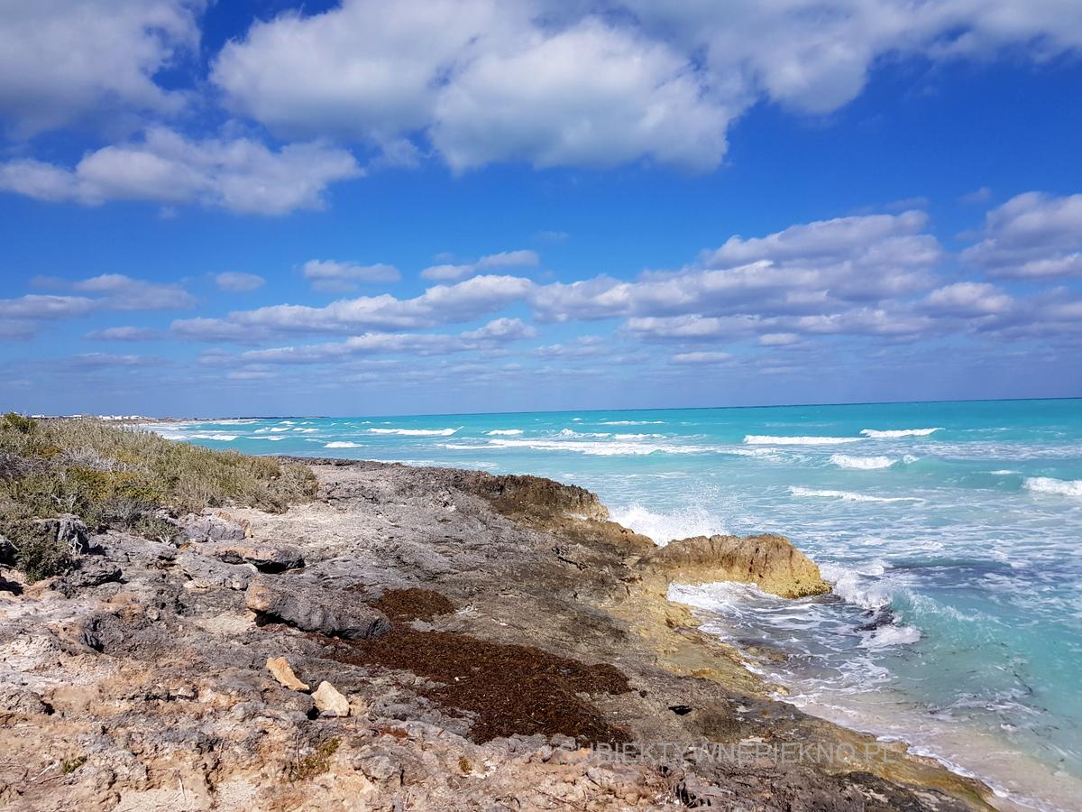 Kuba - ocean i skały