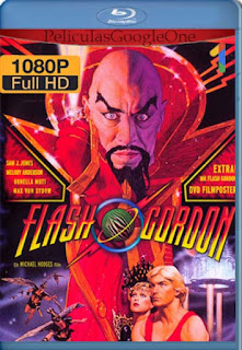 Flash Gordon [1980] [1080p BRrip] [Latino-Inglés] [GoogleDrive] RafagaHD