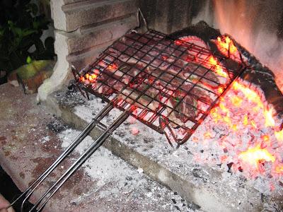 carne di pecora grigliata