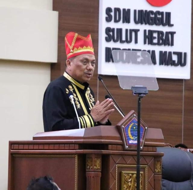DPRD Sulut, Gelar Rapat Paripurna Hut Provinsi Ke 55 Tahun