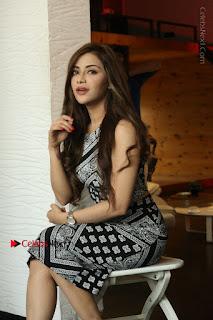 Telugu Actress Angela Krislinzki Latest Pos in Short Dress  0092.JPG