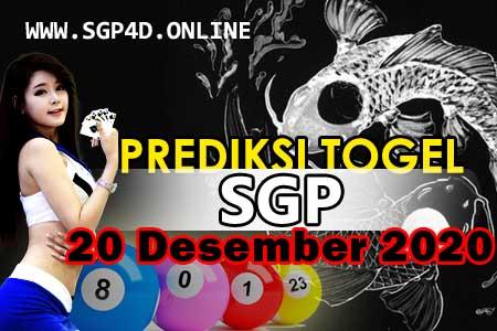 Prediksi Togel SGP 20 Desember 2020