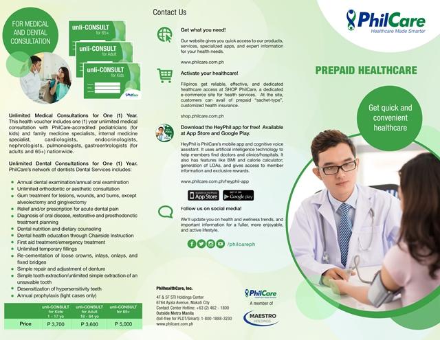 PhilCare's Health Vantage: A Prepaid Health Card
