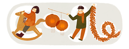 Google Doodle Chinese New Year 2014