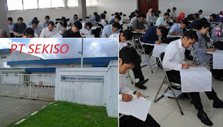 Lowongan Kerja Terbaru SMA SMK BEKASI PT Sekiso Industries Indonesia 2020