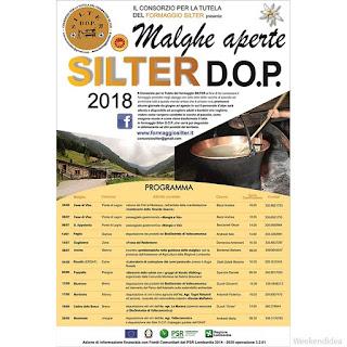 Malghe aperte Silter D.o.p. fino al 26 agosto Vallecamonica (BS)