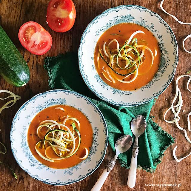 Pomidorowa ze świeżych malinowych