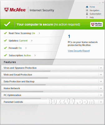 McAfee Internet Security Suite 2012