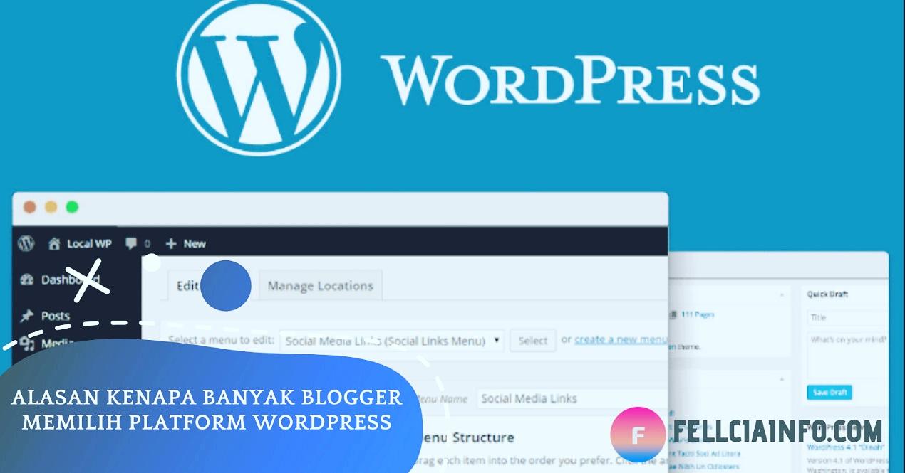 Inilah 12 Alasan Kenapa Banyak Blogger Memilih Wordpress
