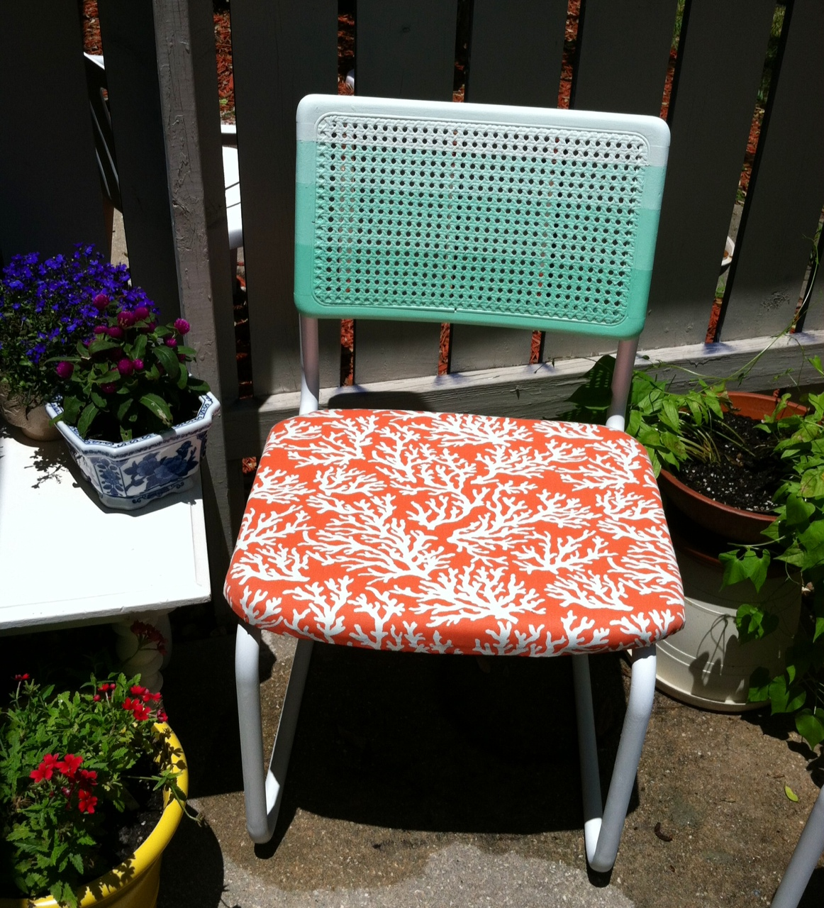 Discoairglow Furniture Retake Coral And Mint Green Ombr 233