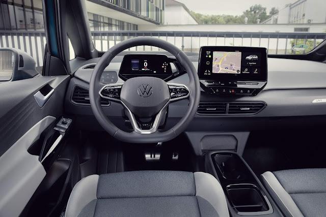 Volkswagen ID3 elétrico