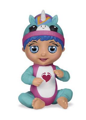 TINY TOES Luna Unicornio : Muñeca Interativa  Producto Oficial 2019   Bandai 56083   A partir de 4 años  COMPRAR ESTE JUGUETE