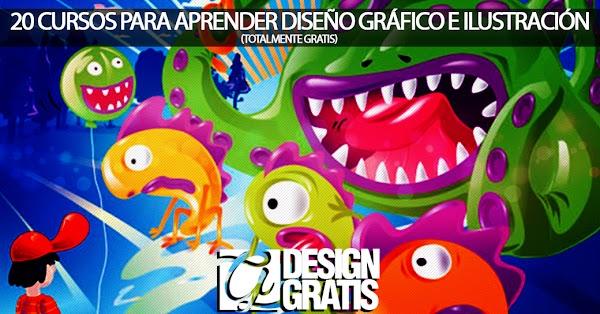 20 cursos para aprender diseño gráfico e ilustración