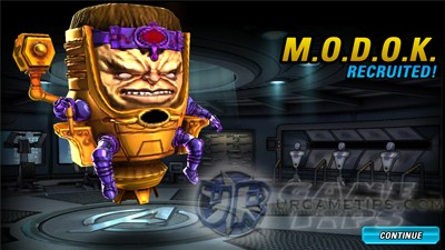 MAA 2 MODOK Chapter 2 Mastery Reward Hero