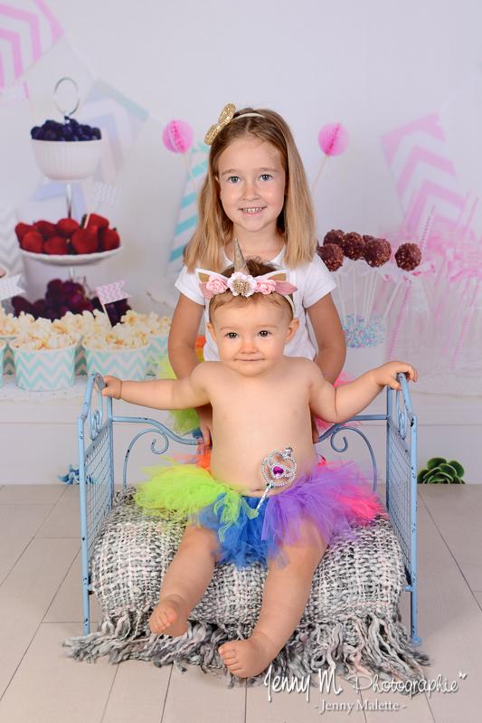 portrait de soeurs photographe enfant studio vendée 85