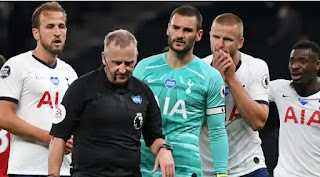 Mourinho feels unhappy with VAR allowing Man United penalty kick to stand against Tottenham