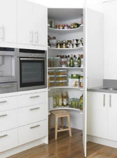corner kitchen pantry