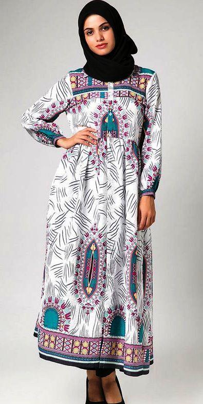Model Baju Gamis Batik Pesta Untuk Orang Gemuk