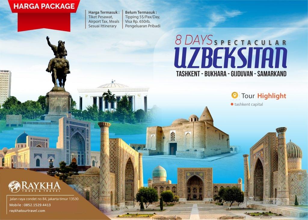 Tour uzbekistan map tour.