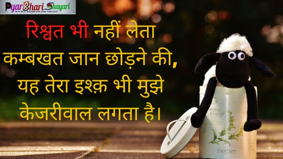 Comedy Shero Shayari In Hindi