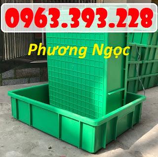 Thùng nhựa đặc đựng linh kiện, khay nhựa B9 3d4dd893c5243c7a6535