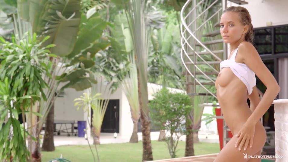 [Playboy Plus] Katya Clover - Poolside Pleasure