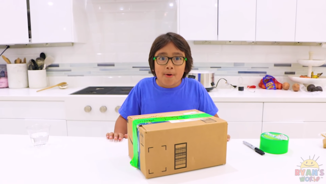 YouTube's Highest Earner of 2019 is an Eight Year Old Kid