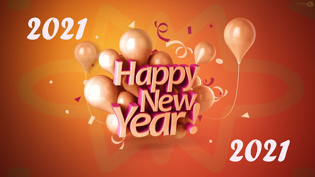 Surprising Happy New Year 2020 HD Wallpaper