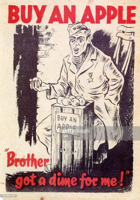 German Propoganda Pamphlet Image from WW2