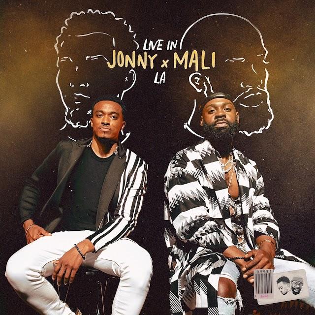 "GRAMMY WINNERS JONATHAN MCREYNOLDS AND MALI MUSIC SET TO CO-RELEASE ""JONNY X MALI: LIVE IN LA"" EP | @JONMCREYNOLDS, @MALIMUSIC"