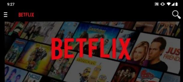 تطبيق Betflix أفلام ومسلسلات مجانا من منصات مختلفة مثل Netflix