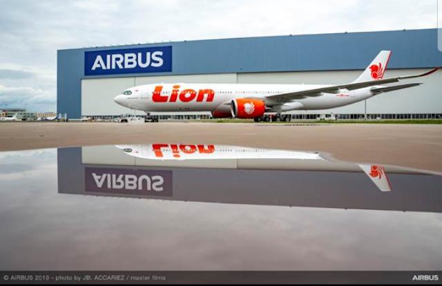 Pesawat Baru Airbus A330 Neo Lion Air