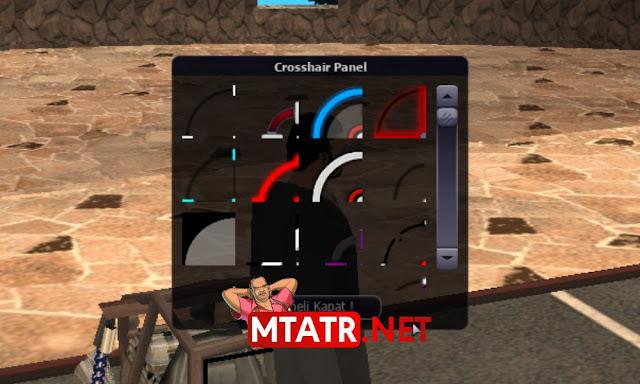 MTA SA Crosshair Panel