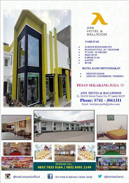 Daftar Harga Gedung Serbaguna / Gedung Wedding di Kota Jambi