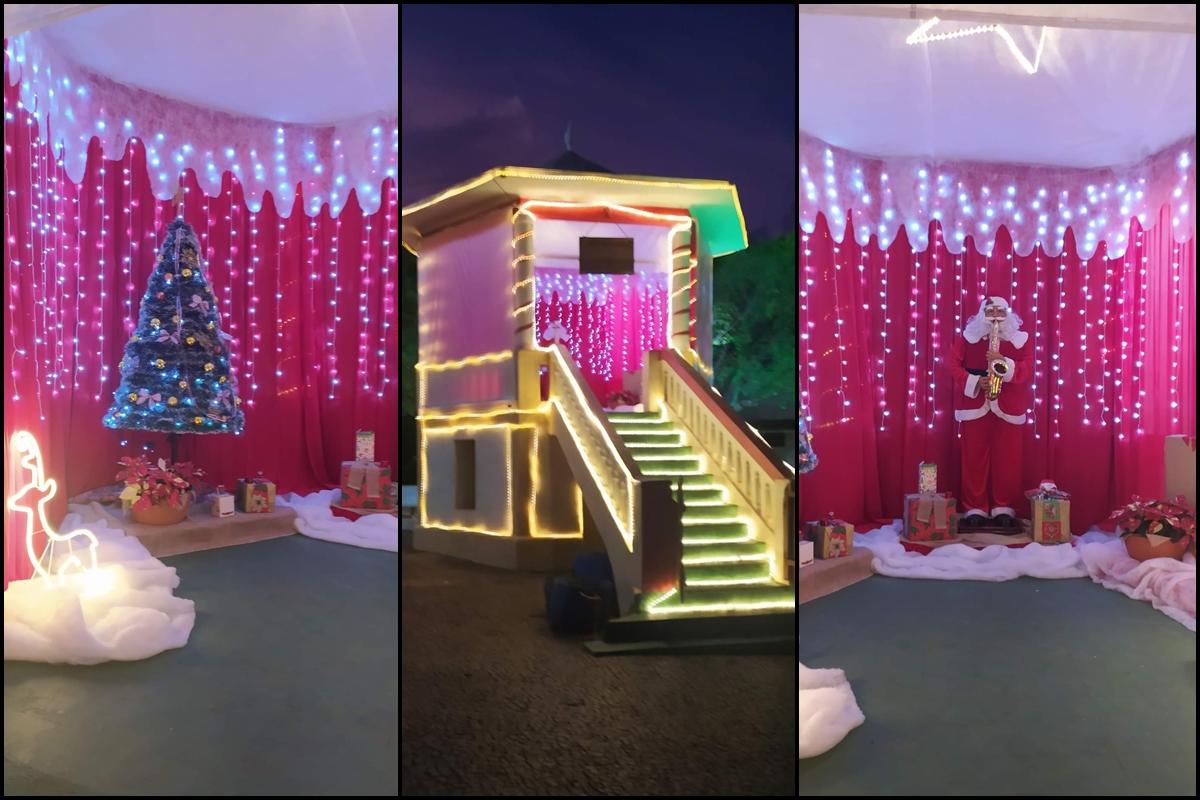 Casa do Papai Noel será aberto ao público a partir de hoje (17) em Cajobi