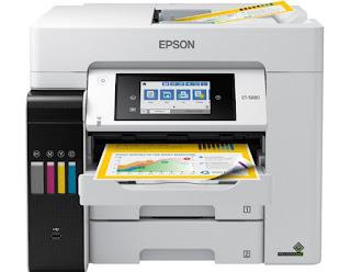 Epson EcoTank Pro ET-5880 Driver Downloads, Review, Price