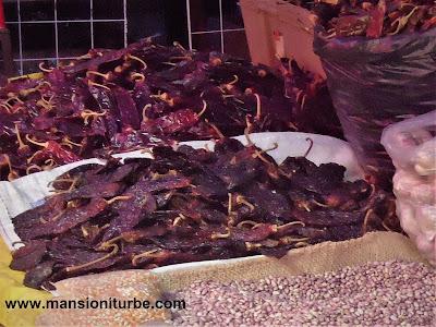 Chiles Secos, ingredientes para el Mole