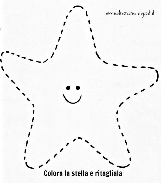 Stella Cometa Disegno Da Colorare