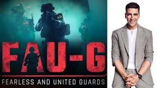 FAU-G Teaser Akshay Kumar launches the teaser of FAU-G game