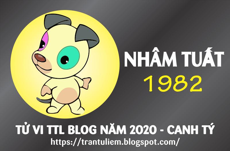 TỬ VI TUỔI NHÂM TUấT 1982 NĂM 2020
