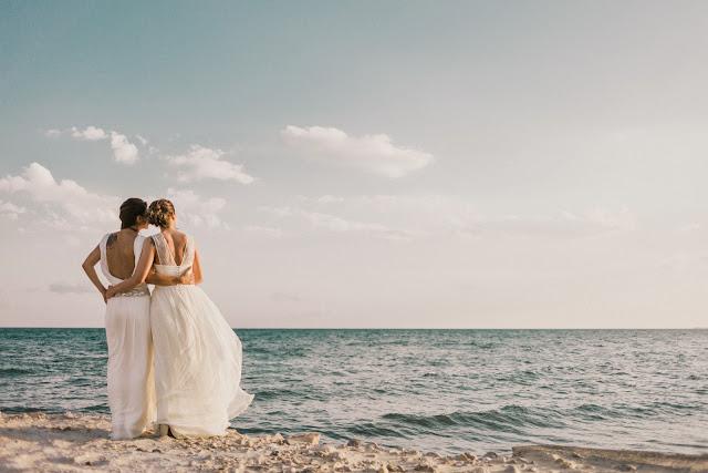 boda con dos novias otaduy gabby en route photography