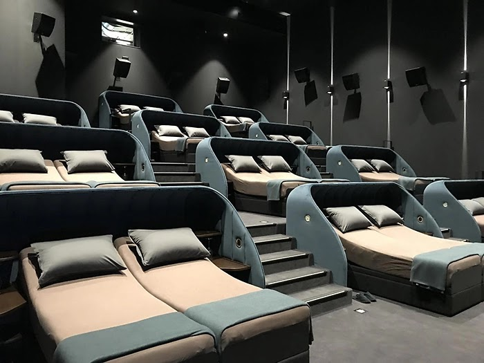 A Cinema In Switzerland Replaced All Of Its Seats With Double Beds