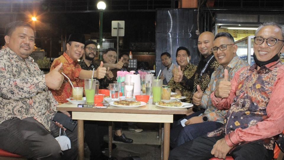Komjen Boy Rafli saat menggelar pertemuan dengan SBR Sumbar, Jumat 26 Maret 2021 di Padang. (Dok. Istimewa)
