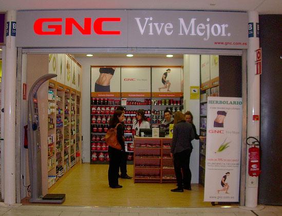 Loja GNC em Barcelona